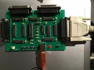 Assembled USB card