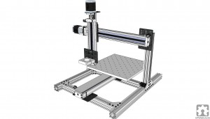 3D concept of the CNC router
