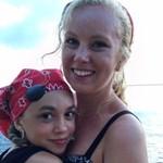 Jillian Spaeder with her Sister