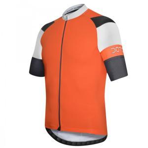 OXIGEN maillot m/corta Naranja-Blanco-Negro