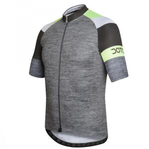 OXIGEN maillot m/corta Gris-Negro-Lima