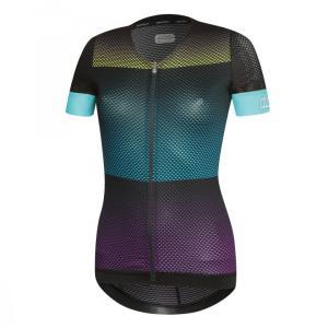 GLORY maillot m/corta Violeta-Azul claro-Amarillo