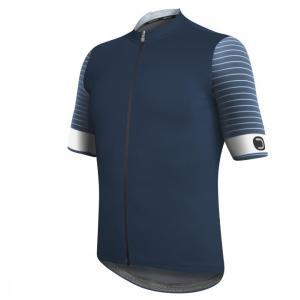 RIVAL maillot m/corta Azul Avio-Blanco