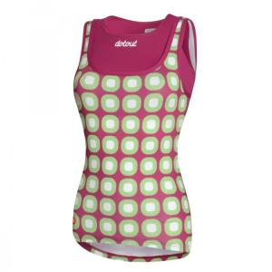 DOTS Top tirantes Violeta