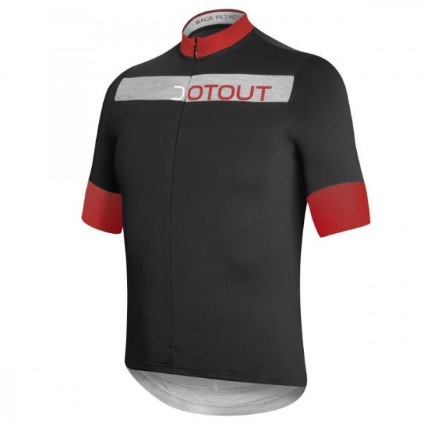 HORIZON maillot m/corta Negro-Rojo