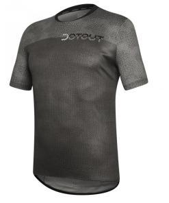 FLIP maillot m/corta Gris oscuro-Gris claro