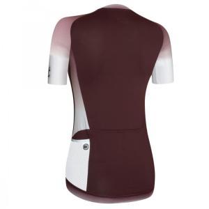 STAR maillot m/corta Burdeos-Blanco