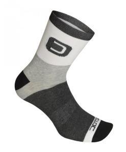 DOT calcetines medios Blanco-Negro
