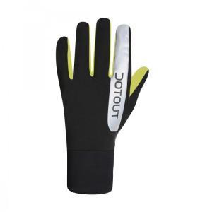 termico guante invierno negro-amarillo fluor