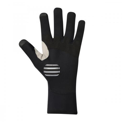 twister guantes invierno negro