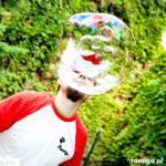 bubble show Kraków