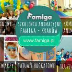 szkolenia dla nauczycieli, pedagogów i animatorów zabawy Kraków famiga