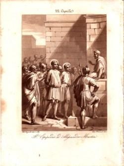 sveta Epipodij in Aleksander - mučenca
