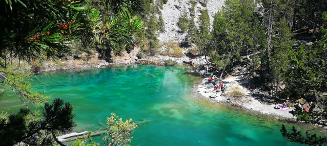 Il Lago Verde in Valle Stretta, vicino a Torino