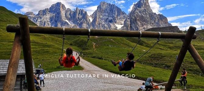 Trentino orientale. San Martino di Castrozza con bambini