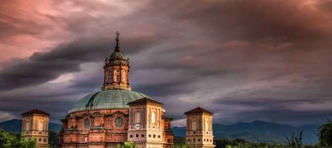 Santuario di Vicoforte con la Cupola Ellittica più grande al mondo
