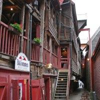 Bryggen - Alles aus Holz und ganz schön schief