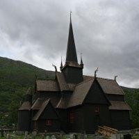 Die Stabkirche in Lom