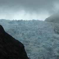 Der Franz Josef Gletscher - und wo ist Sissi?