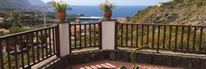 Diesen Ausblick hatten wir vom Balkon unserer Wohnung