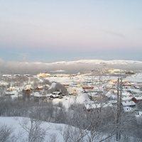 Toller Blick auf Kirkenes