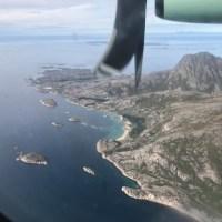 Landeanflug auf Bodo