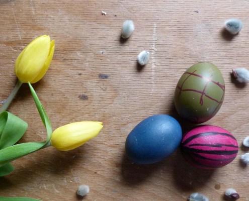 Ostern und seine Farben