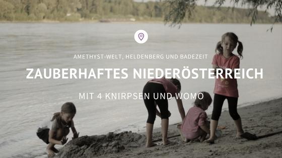 Niederösterreich Womo zauberhaft