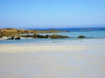 Meer bei Trestelle - ebenfalls paradiesisch