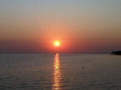 Sonnenuntergang - nicht auf Capri