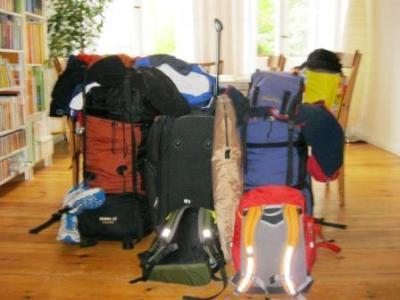 Gepäck - viel