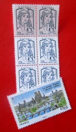 """Briefmarken. Im Lateinischen """"Pittacium epistulare""""."""