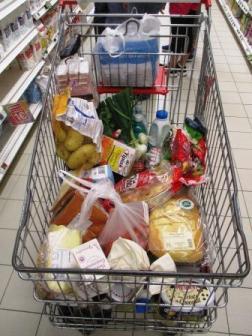 Der letzte Einkauf. Vor der Apokalypse.