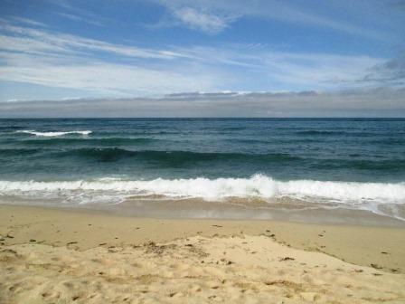 Meer. Mit Wellen.