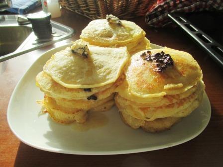 Pancakes. Von WeightWatchers gefürchtet.