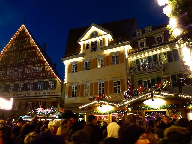 Weihnachtsmarkt. Ort der trügerischen Idylle.