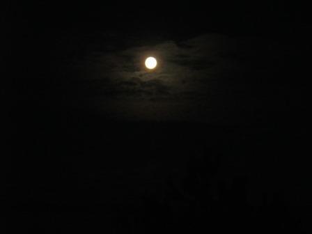 Esquibien. Im Mondschein.