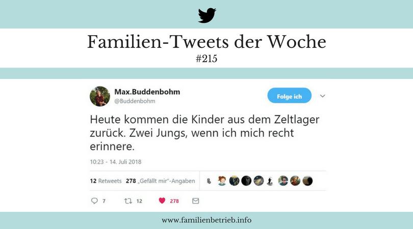 Familien-Tweets der Woche #215