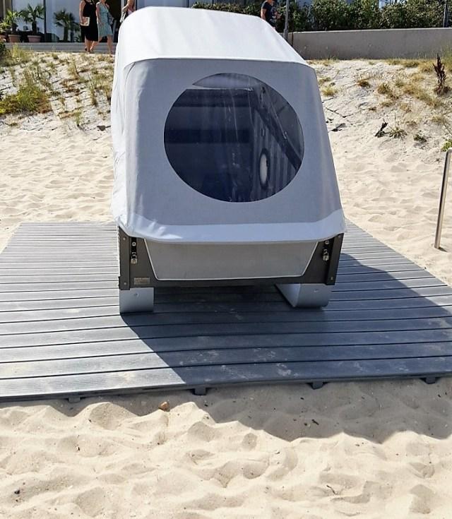 High-Tech-Strandkorb von Chris Hunter