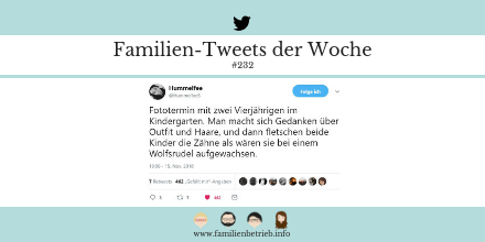 Familien-Tweets der Woche #232