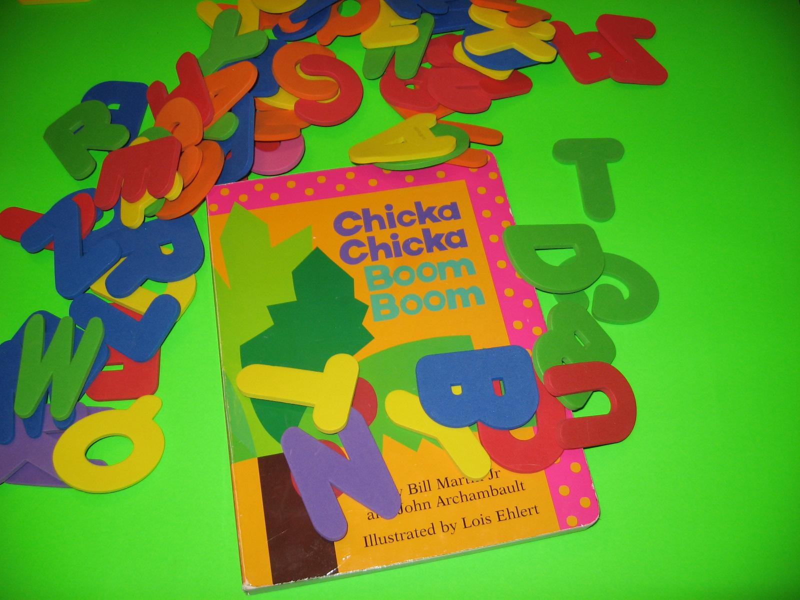 Chicka Chicka Boom Boom Activities Part 1 Homeschool