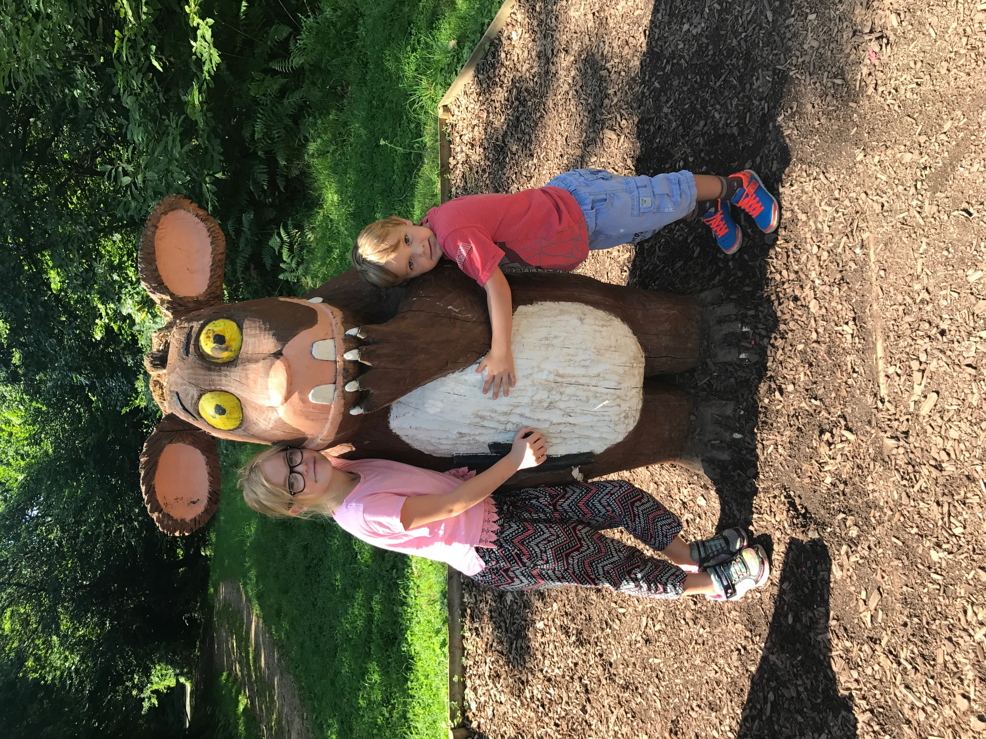 So i'm sure you've guessed by now, we went on one of the forestry commission's many gruffalo's child trails. Review Of Alice Holt Forest Woodland Park In North Hampshire By Nadine Storer 194 Families Online