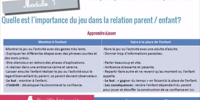 Extrait Atelier Jouer pour Grandir Montessori