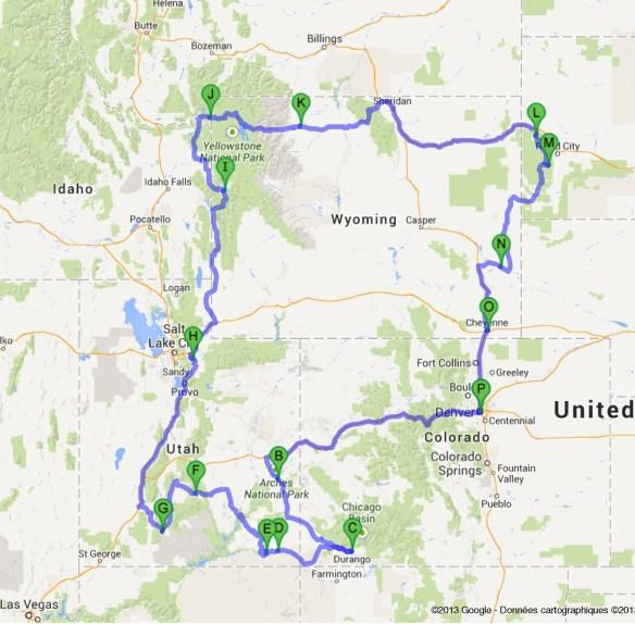 Road-trip USA 2014