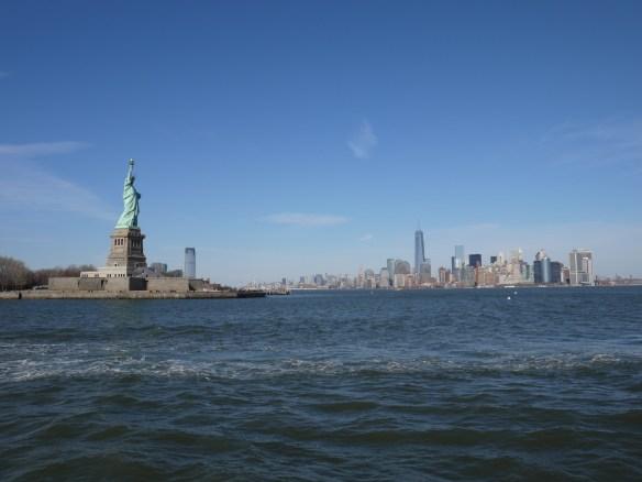 Skyline NYC et Statue de la Liberté
