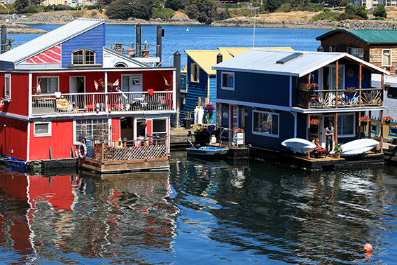 Victoria, Fisherman's wharf, British columbia