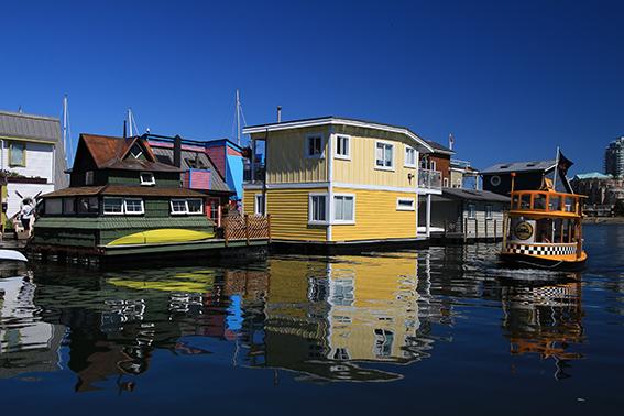 Victoria, Fisherman's wharf, British columbia