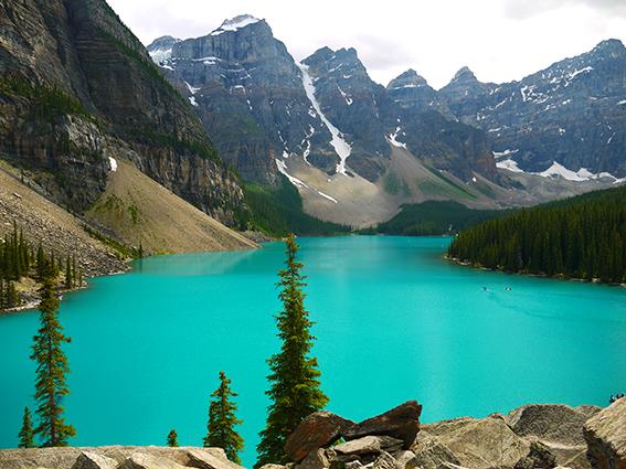 Lac Moraine, Banff, Canada
