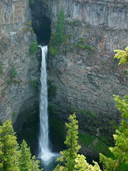 Spat falls, Wells Gray park