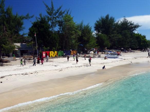 Gill Trawangan, Lombok, Indonésie